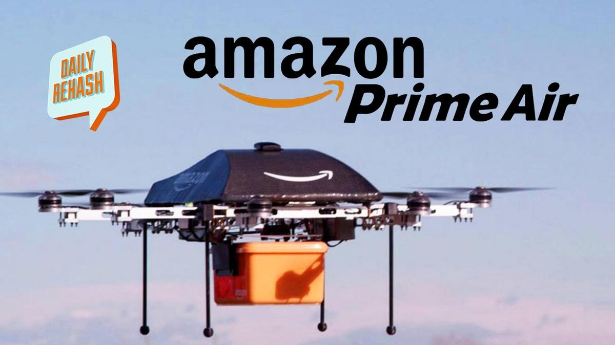 amazon prime air drone delivery beta test daily rehash. Black Bedroom Furniture Sets. Home Design Ideas