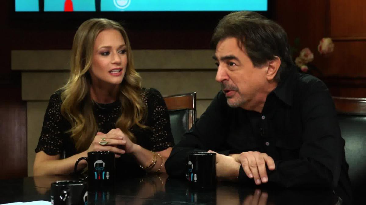 The cast of 'Criminal Minds' Joe Mantegna and AJ Cook