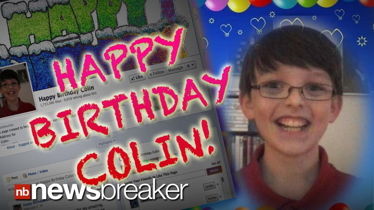 HAPPY BIRTHDAY COLIN: Mother of Little Boy With Asperger Syndrome Creates  Facebook Page to Show Him He Has Friends