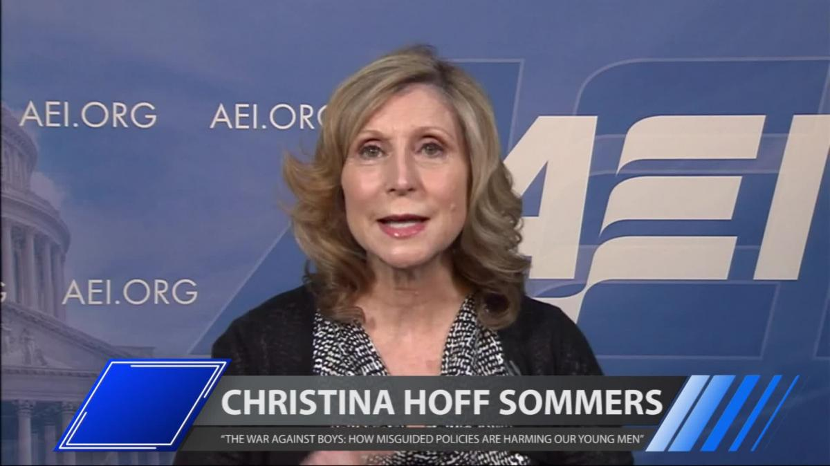 an analysis of christina hoff sommerss book the war against boys how misguided feminism is harming o Christina hoff sommers author of the war against boys: how misguided feminism is harming there have been an enormous number of popular books.