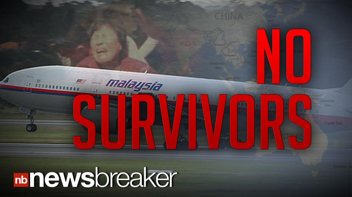 NO SURVIVORS: Search For MH370 Is Over; Malaysian Prime
