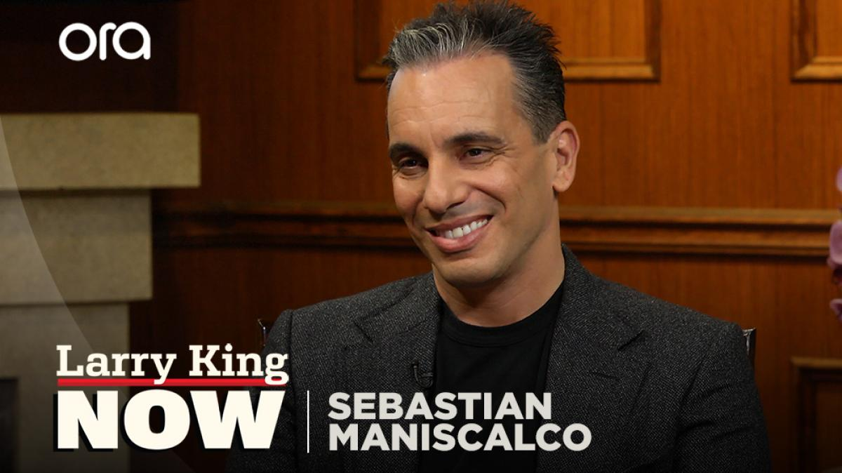 Sebastian Maniscalco explains his father's influence in his comedy