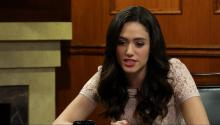 Larry King Interviews Emmy Rossum On Her New Film