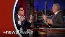 VIRAL VIDEO OF THE DAY: Stephen Colbert Takes Over The Late Show, Reads His First