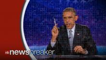 VIRAL: President Obama Hijacks 'The Colbert Report,' Sounds Off On 'The Word'