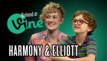 Behind the Vine with Harmony and Elliott