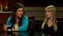 Life On The Big Bang Set With Mayim Bialik and Melissa Rauch