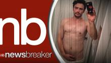 James Franco Post Nearly-Naked Selfie on Instagram in Latest Bizarre Bedroom Photo