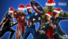 And Now, The Avengers Sing Christmas Carols!