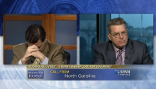 That Awkward Moment When You're Debating Your Brother On C-SPAN And Your Mom Calls