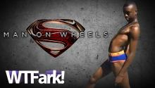 "MAN ON WHEELS: YouTube Star ""Superman Draws"" Becomes The Greatest Ring-Bearer Of All-Time"