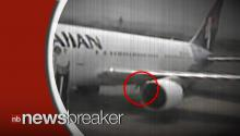 Surveillance Video Shows Stowaway Stumbling Out of Plane's Wheel Well