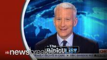TODAY'S LOL: The Newest Puns To Make Anderson Cooper Giggle