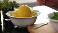 How to Save Lemons from Drying Out