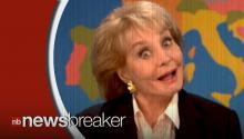 Barbara Walters Pokes Fun at Herself on SNL, Gets Ready to Retire