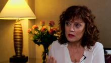 Susan Sarandon discusses aging