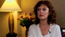 Susan Sarandon discusses Arbitrage