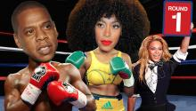 Jay-Z and Solange FACE OFF