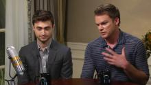 Daniel Radcliffe and Michael C. Hall talk about Kill Your Darlings