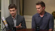 Daniel Radcliffe and Michael C. Hall talk about Harry Potter