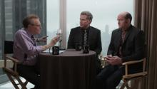 Will Ferrell and David Koechner talk about Anchorman2