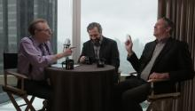 Adam McKay and Judd Apatow talk about Anchorman2