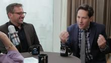 Paul Rudd and Steve Carell talk about Anchorman2