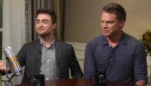 Daniel Radcliffe discusses Harry Potter
