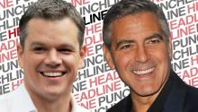 Matt Damon, not Brad Pitt, Will Be Clooney's Best Man