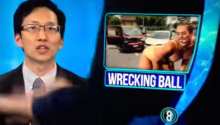 Local Newscast Hijacked By Man Demanding Real News