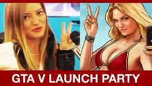 GTA V Launch Party: iJustine & More!