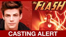 News Alert: Glee's Grant Gustin IS The Flash!