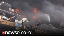 BREAKING: Massive 6 Alarm Fire on Boardwalk in Seaside Park, NJ