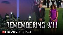 REMEMBERING 911: Moments of Silence in NY and DC on Terror Attack Anniversary