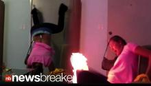HOT PANTS: Video of Girl Twerking, Falling, Catching Fire Goes Viral
