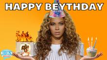 Happy Birthday Beyonce from Justin Bieber (and us)