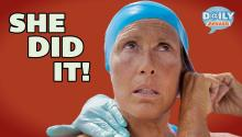 Diana Nyad Swims Cuba to Florida - Twitter Reacts
