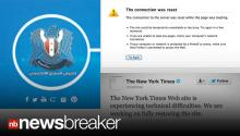 BREAKING NEWS: New York Times and Twitter Hacked