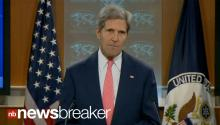 RAW: Sec. of State John Kerry Says Chemical Weapons Used in Syria