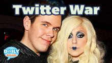 Lady Gaga-Perez Hilton Twitter Fight
