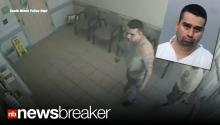 Surveillance Video Shows Facebook Murder Suspect Surrendering