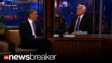 OBAMA ON LENO: President Talks Snowden, Spying & Trayvon on Tonight Show
