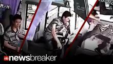 CAUGHT ON TAPE: Surveillance Cams Record Terrifying Bus Crash in China