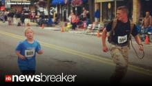 HERO: Marine Purposely Loses 5K Marathon to Run With Child; Photo Goes Viral