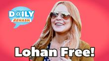 Lindsay Lohan Out of Rehab