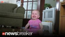 TRY NOT TO SMILE: Latest Laughing Baby About to Go Viral