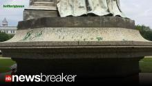 BREAKING: Police Make Arrest as Lincoln Memorial + 3 More DC Landmarks Splattered with Green Paint