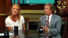 Nigel Lythgoe & Cat Deeley