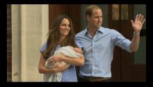 "BREAKING VIDEO: Royal Baby Introduced to the World; Will & Kate ""Still Working"" on Name"