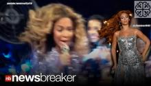 WHEN FANS ATTACK: Singer Beyonce Snagged by Actual Fan During Live Performance